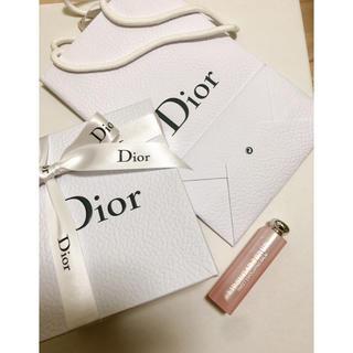 ディオール(Dior)の新品 ラッピング済 ディオール シュガースクラブ(リップケア/リップクリーム)
