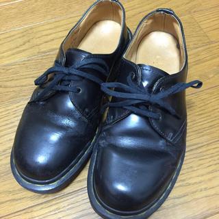 ドクターマーチン(Dr.Martens)のドクターマーチン 黒 3ホール(ローファー/革靴)
