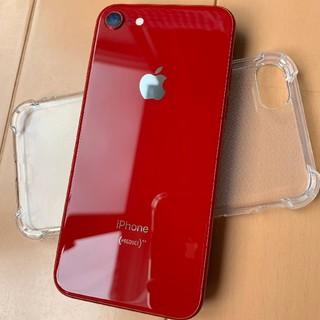 Apple - iphone8 限定赤色 64gb 美品 wifi専用機