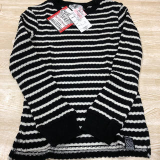 しまむら - 新品♡ ニット セーター ボーダー ワッフルTシャツ