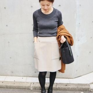 IENA - IENA ソフトモッサー台形スカート