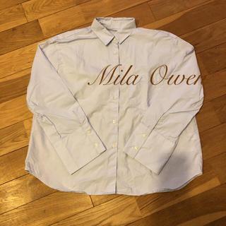 ミラオーウェン(Mila Owen)のミラオーウェン☆コットンシャツ(シャツ/ブラウス(長袖/七分))