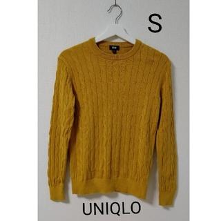 UNIQLO - UNIQLO  からし色 ニット  トップス