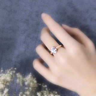 CZダイヤモンド シルバーアクセサリー(リング(指輪))