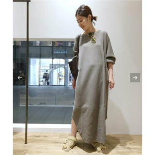 L'Appartement DEUXIEME CLASSE - AMERICANA Thermal Back Henley Neck ワンピース