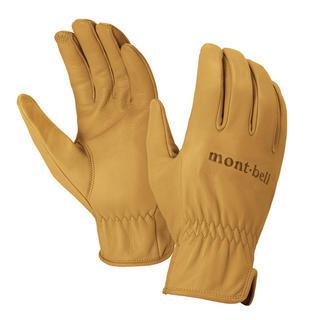 モンベル(mont bell)のmont-bell フィールドレザーグローブ(手袋)