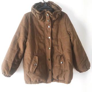 シューラルー(SHOO・LA・RUE)のモッズコート 大きめ Lサイズ ブルゾン ジャケット キャメル ブラウン 茶色(モッズコート)