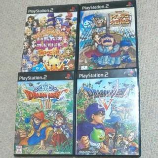 PlayStation2 - PS2 ソフト 4点セット ドラクエ 5 8 トルネコの大冒険3 いたスト