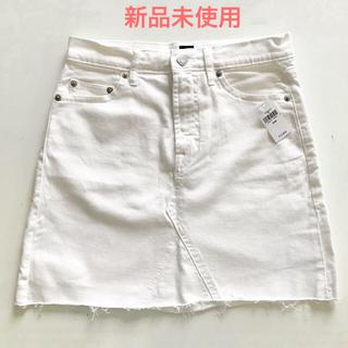 GAP - GAP デニムスカート 白 65cm