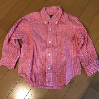 シップス(SHIPS)のシップス チェックシャツ キッズ100(ブラウス)