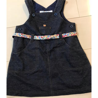 familiar - ファミリア ♡リバティ  ジャンパースカート 美品