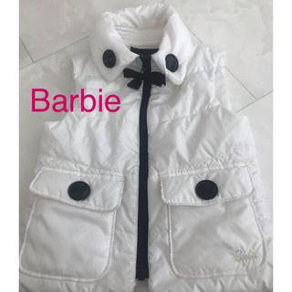 バービー(Barbie)の★Barbie  ベスト★白✖️黒が可愛い(ジャケット/上着)