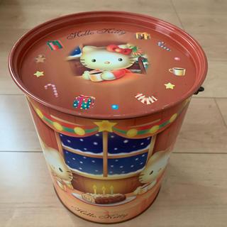 ハローキティ - HELLO KITTY バケツ型 缶ケース