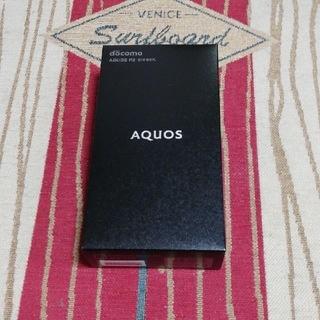 AQUOS - ☆新品未使用☆ ドコモ SH-03K 黒 SIMフリー 利用制限○