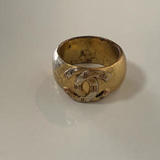 シャネル(CHANEL)のレア☆シャネルのヴィンテージリング ゴールド系(リング(指輪))