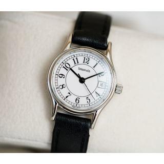 ティファニー(Tiffany & Co.)の美品 ティファニー クラシック シルバー アラビア レディース Tiffany(腕時計)