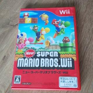 ウィーユー(Wii U)の任天堂 Wii ゲームソフト  スーパーマリオブラザース (家庭用ゲームソフト)
