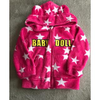 ベビードール(BABYDOLL)のBABY DOLL クマ耳パーカー(ジャケット/コート)