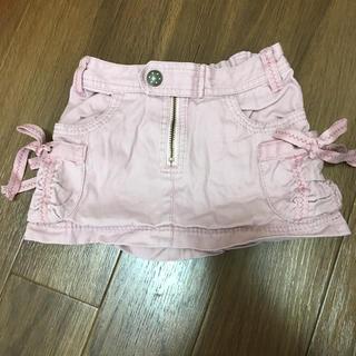 ジルスチュアート(JILLSTUART)のJILL ピンクミニスカート(スカート)