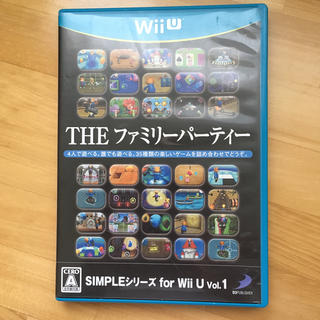 ウィーユー(Wii U)のSIMPLEシリーズ for Wii U Vol.1 THE ファミリーパーティ(家庭用ゲームソフト)