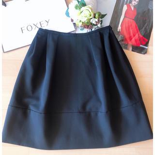 フォクシー(FOXEY)のFOXEY ブティックマカロンシックスカート  40  美品  Rene(ひざ丈スカート)