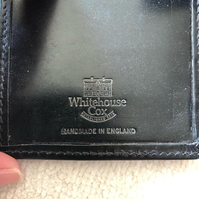 WHITEHOUSE COX(ホワイトハウスコックス)のホワイトハウスコックス システム手帳 ミニ6 メンズのファッション小物(手帳)の商品写真