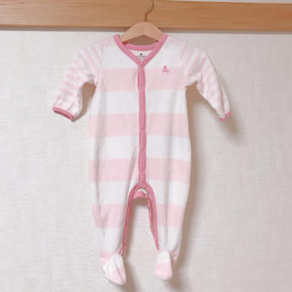 babyGAP - フリースロンパース(足つき)