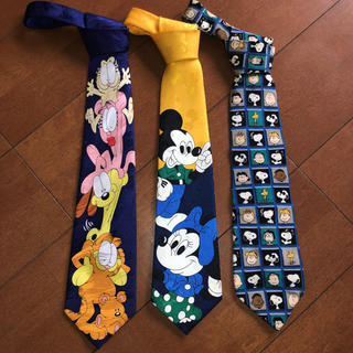 Disney - ディズニー スヌーピーネクタイセット