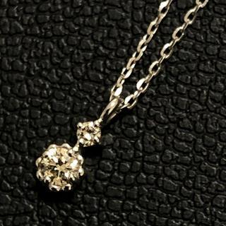 canal4℃ - canal4°C ネックレス ダイヤモンド ヨンドシー ペンダント k10