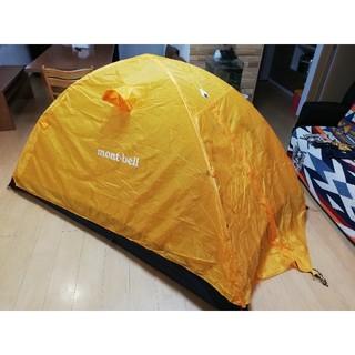 mont bell - 使用2回 ステラリッジテント2型 登山 テント泊 キャンプ ソロキャンプ