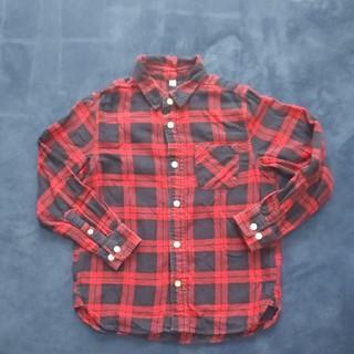 ムジルシリョウヒン(MUJI (無印良品))のネルシャツ  130cm 無印良品   (ブラウス)