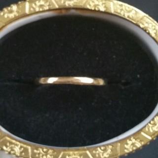 ◆3◆シンプルなゴールドリング(リング(指輪))