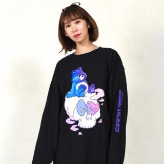 ミルクボーイ(MILKBOY)のMILKBOY SKULL CLOUD L.S. TEE(Tシャツ/カットソー(七分/長袖))