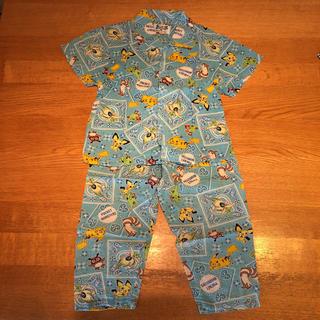 ポケモン(ポケモン)のポケットモンスター 半袖パジャマ (水色)100サイズ(パジャマ)