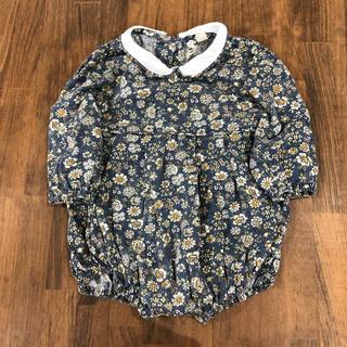 キャラメルベビー&チャイルド(Caramel baby&child )のlittl cotton clothes ロンパース 6-12M(ロンパース)
