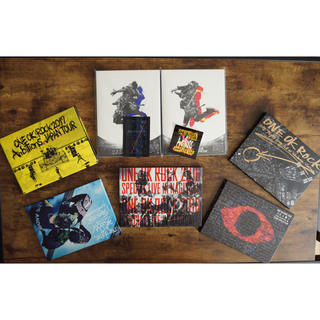 ワンオクロック(ONE OK ROCK)のONE OK ROCK DVD 7枚セット(ミュージック)