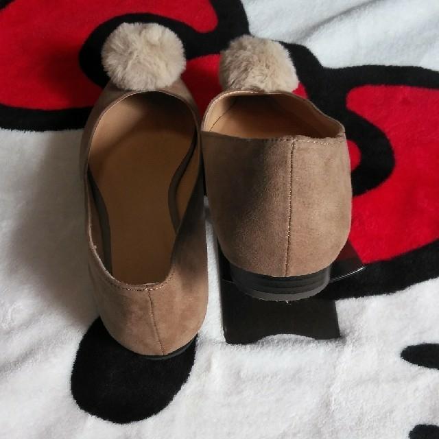GU(ジーユー)のguポンポンシューズ レディースの靴/シューズ(その他)の商品写真