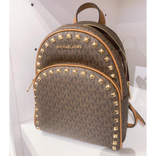 Michael Kors - ABBEY MD FRAME OUT STUD BACK PACK