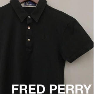 FRED PERRY - フレッドペリー FRED PERRY ポロシャツ 【ダメージあり 】半袖 シャツ