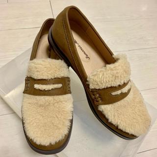 サマンサモスモス(SM2)のSM2 もこもこローファー(ローファー/革靴)