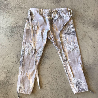 Prairie Ghost Camo Denim Jujitsu Pants