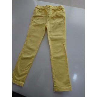 グリーンレーベルリラクシング(green label relaxing)の黄色カラーパンツ グリーンレーベル キッズ130 140(パンツ/スパッツ)