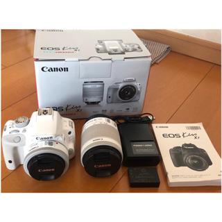 Canon - Canon EOS Kiss X7 ダブルレンズキット ホワイト