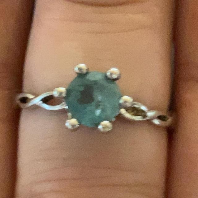 新品未使用 SILVER ブルーアパタイト リング レディースのアクセサリー(リング(指輪))の商品写真