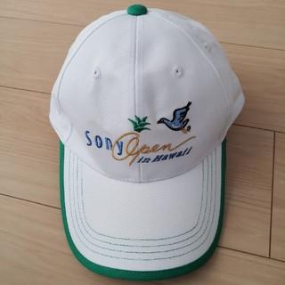 ダンロップ(DUNLOP)のPGAツアー ソニーオープンゴルフ オリジナルキャップ(その他)