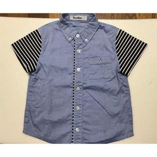 familiar - ファミリア 半袖シャツ 110