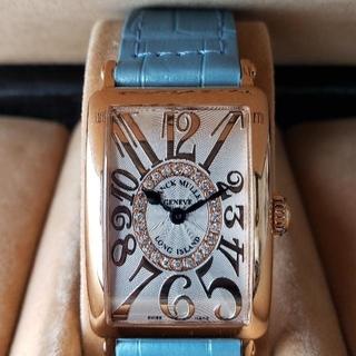 FRANCK MULLER - フランクミューラー LONG ISLAND 女子 腕時計