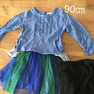 ラグマート(RAG MART)の3点セット チュールスカート(スカート)