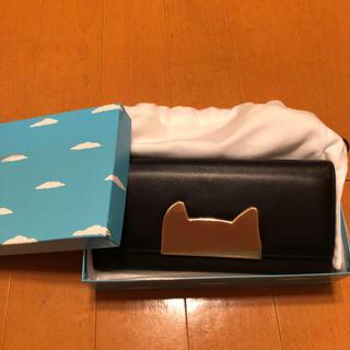TSUMORI CHISATO - 【新品】ツモリチサト 黒 ネコ 長財布