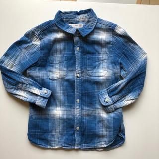 ザラキッズ(ZARA KIDS)のZARA baby チェックシャツ 100(ブラウス)